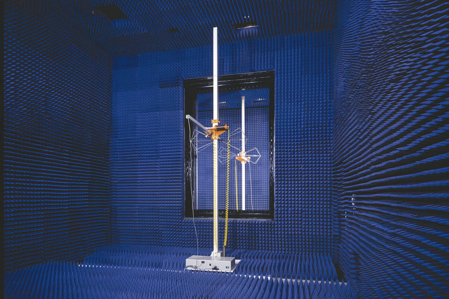Double Chamber Electromagnetic anechoic chamber
