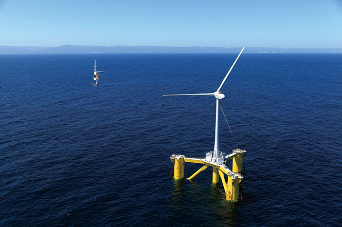 Fukushima Floating Offshore Wind Farm Demonstration Project , funded by the Ministry of Economy, Trade and Industry