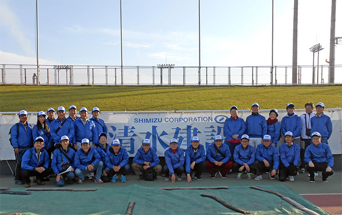 Participation as Volunteers in the Oita International Wheelchair Marathon