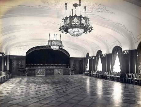 Hotel New Grand Rainbow Ballroom built in 1927