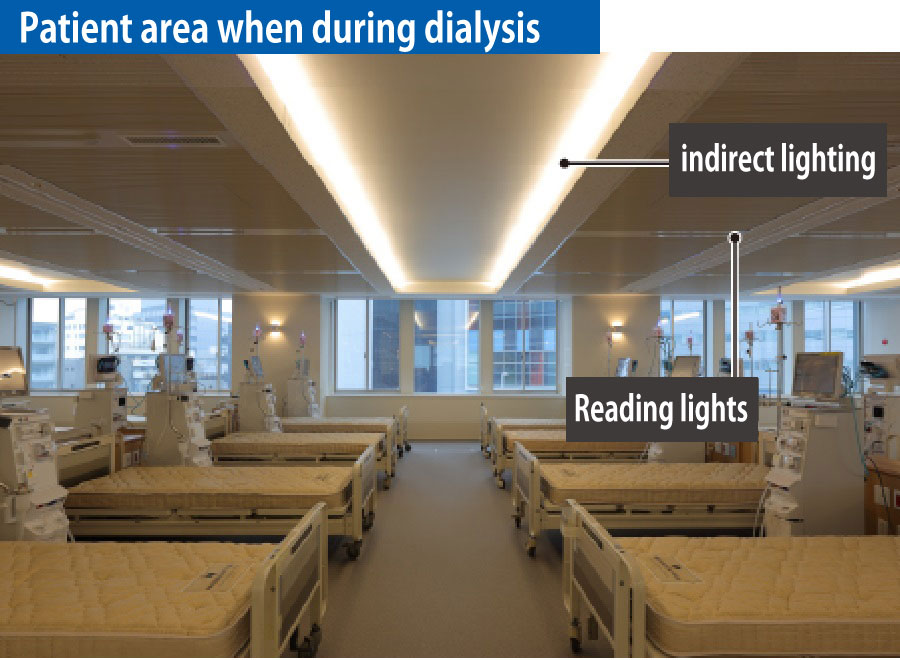 Patient are when during dialysis