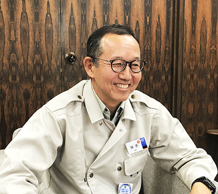 Hayato Ide,General Manager, Tokyo Mokkoujou Arts & Crafts Furnishings