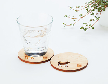 FY 2018 Shareholder Gift Coasters imprinted with the Chinese Zodiac signs