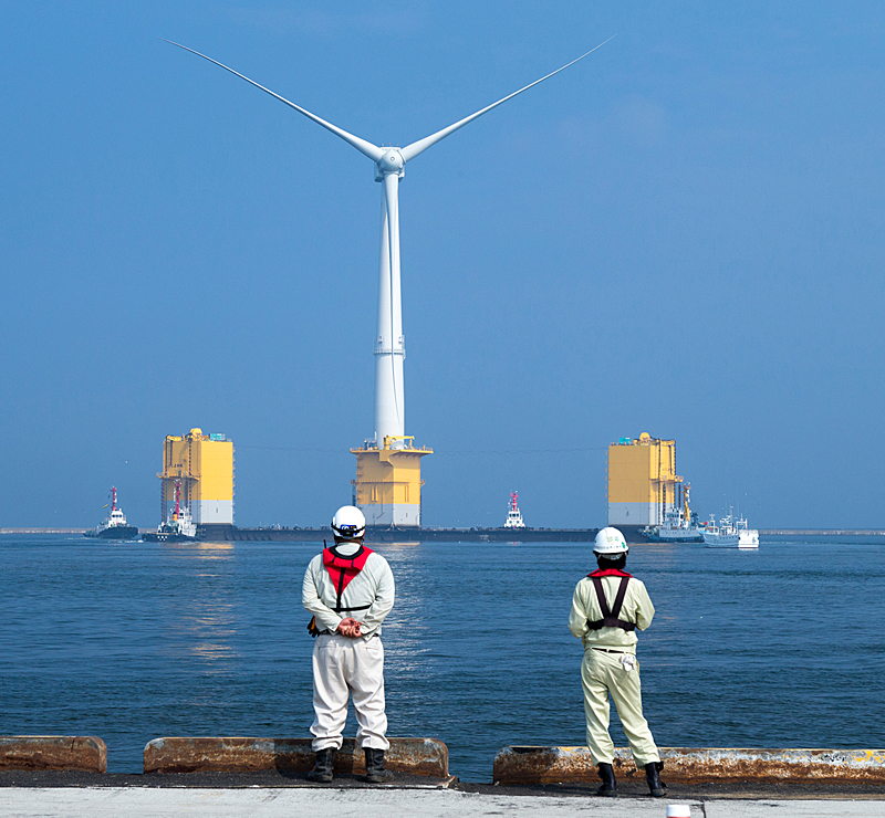 As a pioneer of floating wind farms