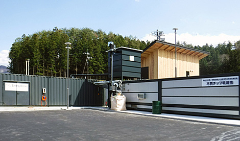 Wood-based biomass gasification equipment