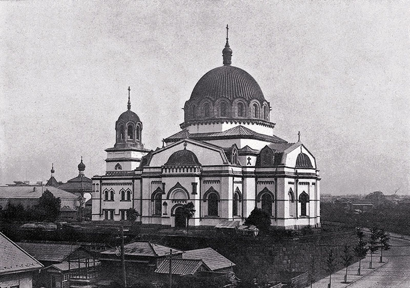 japanese orthodox church revival cathedral reconstruction nicholai