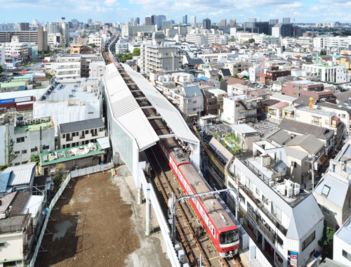 Overpass Works in the vicinity of Keikyu Kamata Station as part of Continuous Grade Separation Project Keikyu Corporation (Phase6)